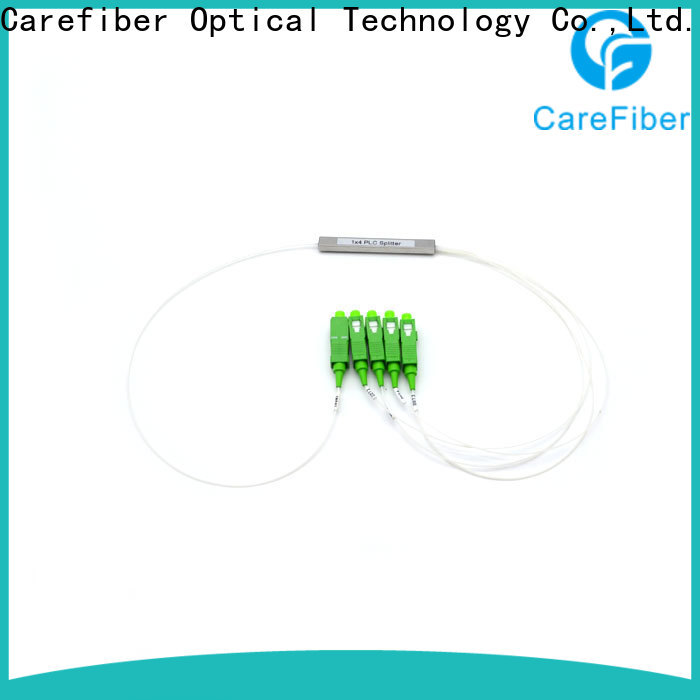 Carefiber best fiber splitter trader for industry