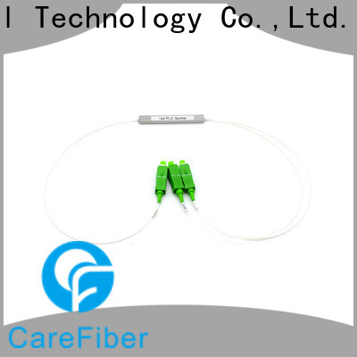 Carefiber quality assurance optical cord splitter cooperation for industry