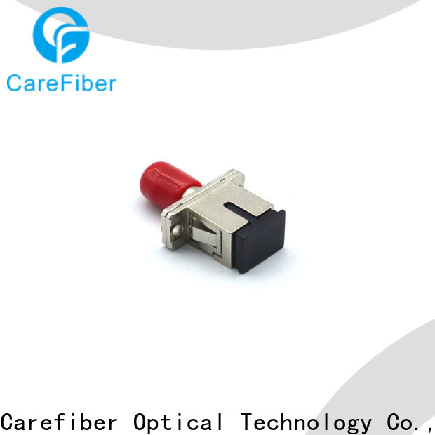 Carefiber high quality fiber optic adapter made in China for wholesale