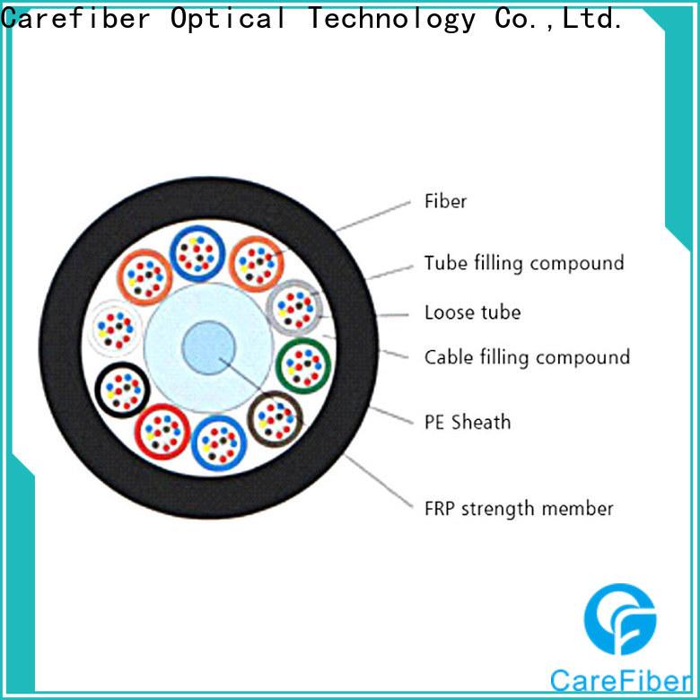 Carefiber outdoor fiber wholesale for communication
