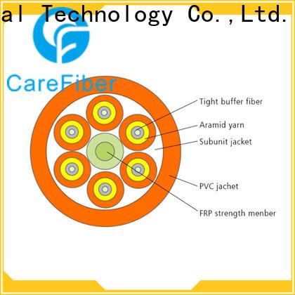 Carefiber gjbfjv single mode fiber cable maker for indoor environment
