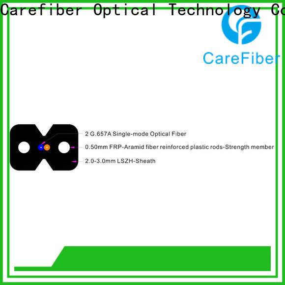 Carefiber highly recommended aerial drop cable trader for network