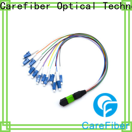 Carefiber best mtp cable assemblies made in China for telecom industry