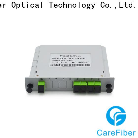 Carefiber abs plc fiber splitter trader for global market