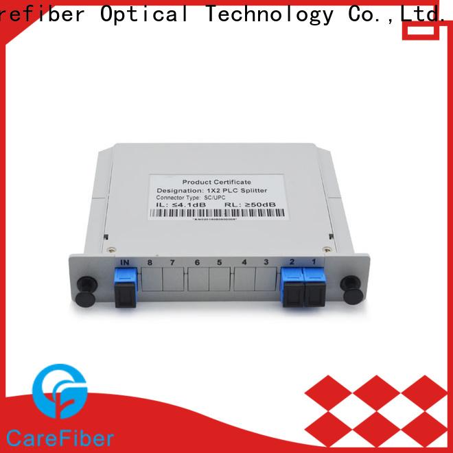 Carefiber 1x16plc plc splitter cooperation for communication