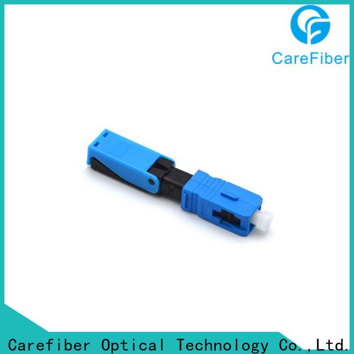 Carefiber new fiber optic lc connector trader for distribution
