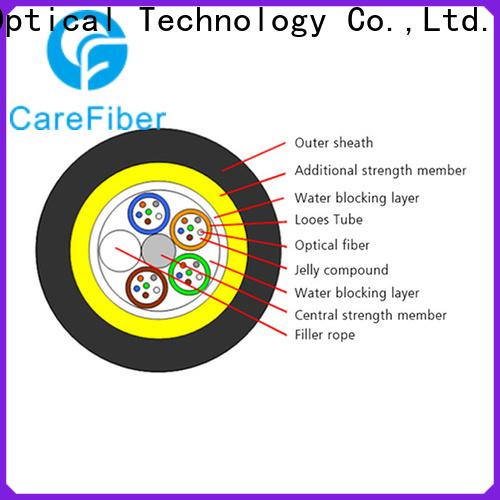 Carefiber high reliability adss fiber cable for communication