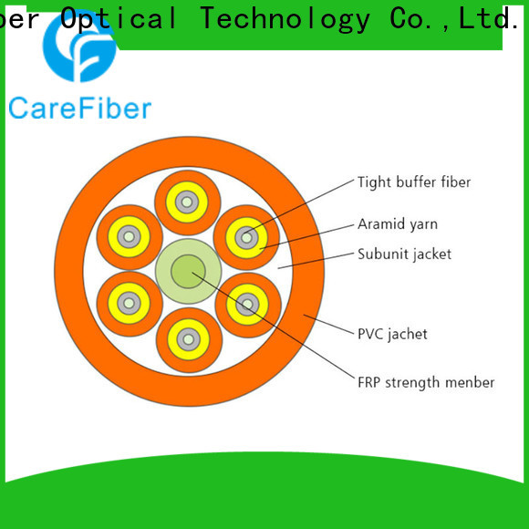 Carefiber high quality indoor cable well know enterprises for indoor environment