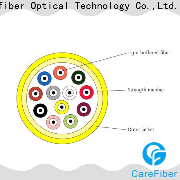 Carefiber customized fiber optic supply provider for indoor environment