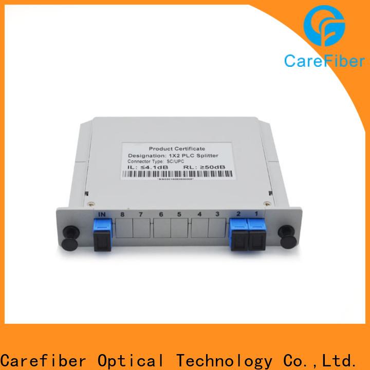 Carefiber best splitter plc cooperation for communication