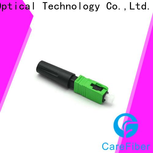 Carefiber dependable sc fiber optic connector factory for consumer elctronics