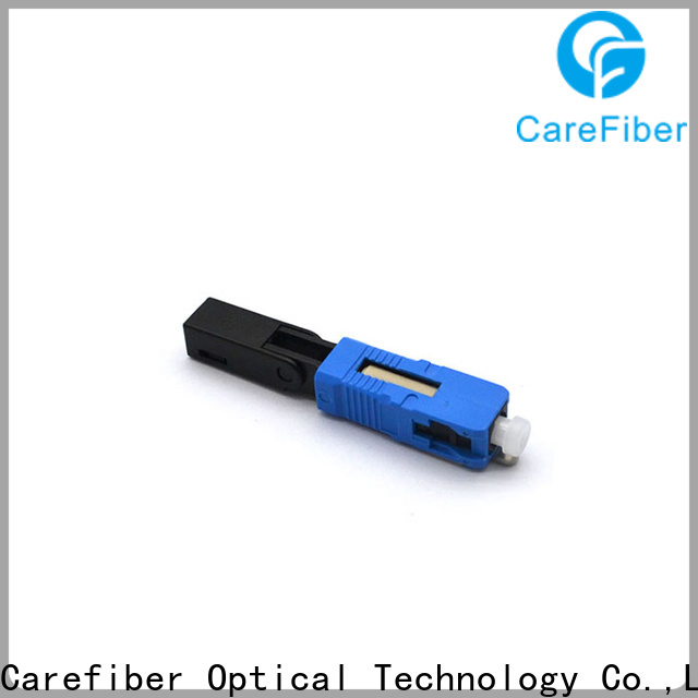 Carefiber best fiber fast connector trader for consumer elctronics
