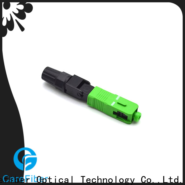 Carefiber cfoscupc lc fiber connector provider for communication
