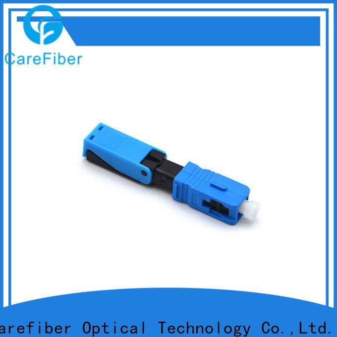 Carefiber cfoscupcl5301 fiber optic fast connector provider for communication