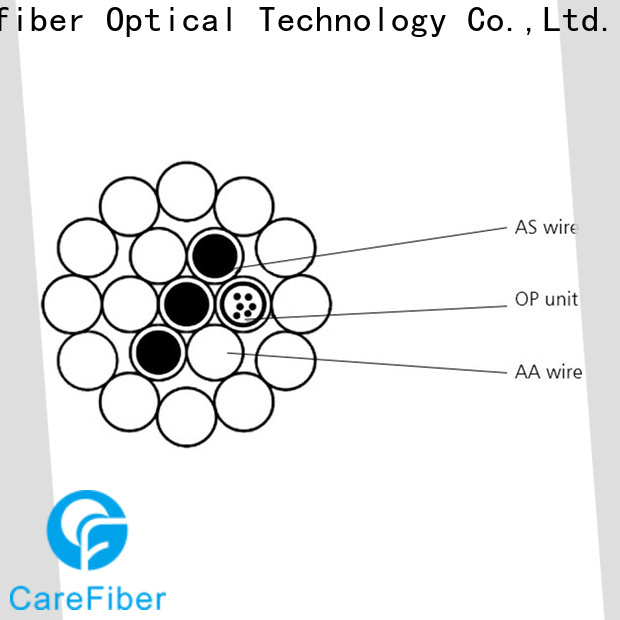 Carefiber credible optical ground wire manufacturer for electric lines