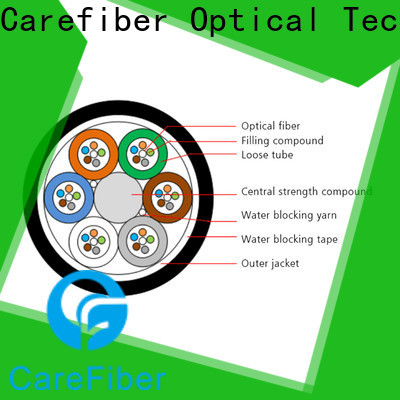 Carefiber gcyfxty single mode fiber cable great deal for communication