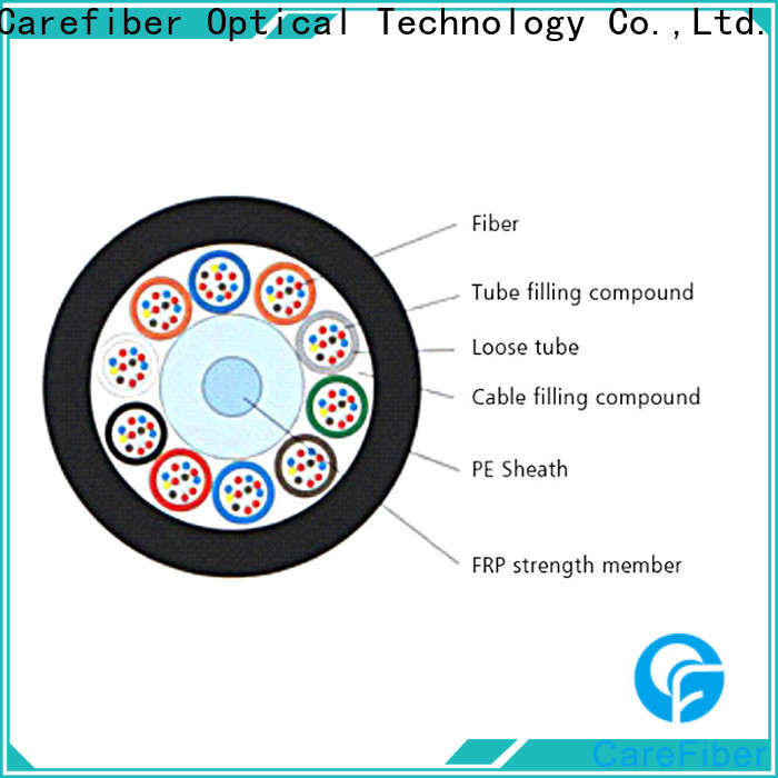 Carefiber gyfty outdoor multimode fiber optic cable wholesale for communication