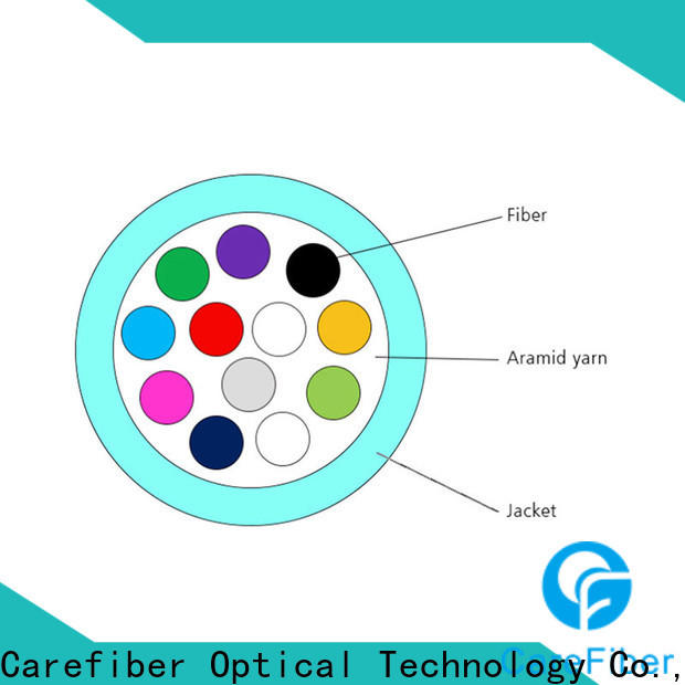 customized single mode fiber cable gjfv provider for indoor environment