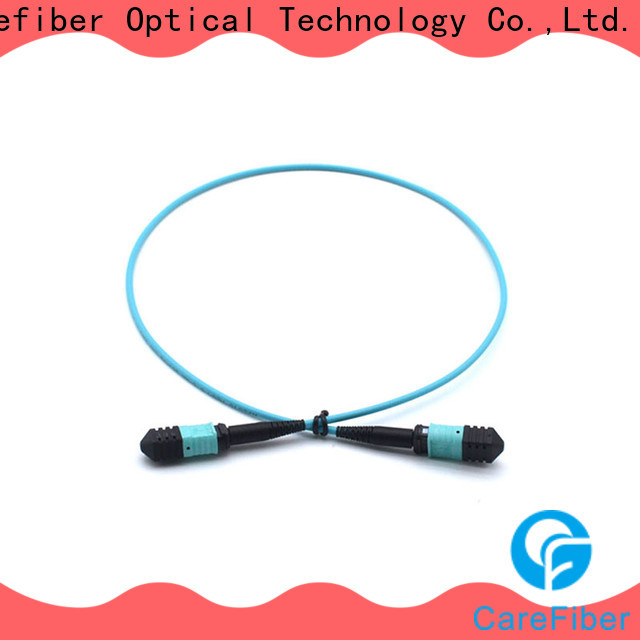 Carefiber quality assurance fiber patch cord foreign trade for wholesale