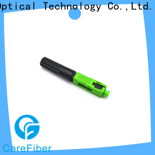 Carefiber dependable fiber optic cable connector types trader for communication