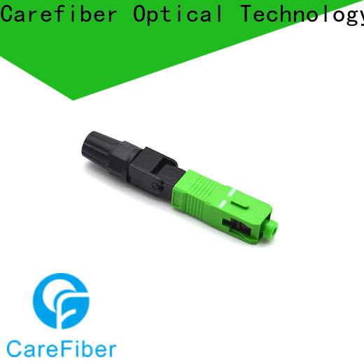 Carefiber best fiber fast connector trader for communication