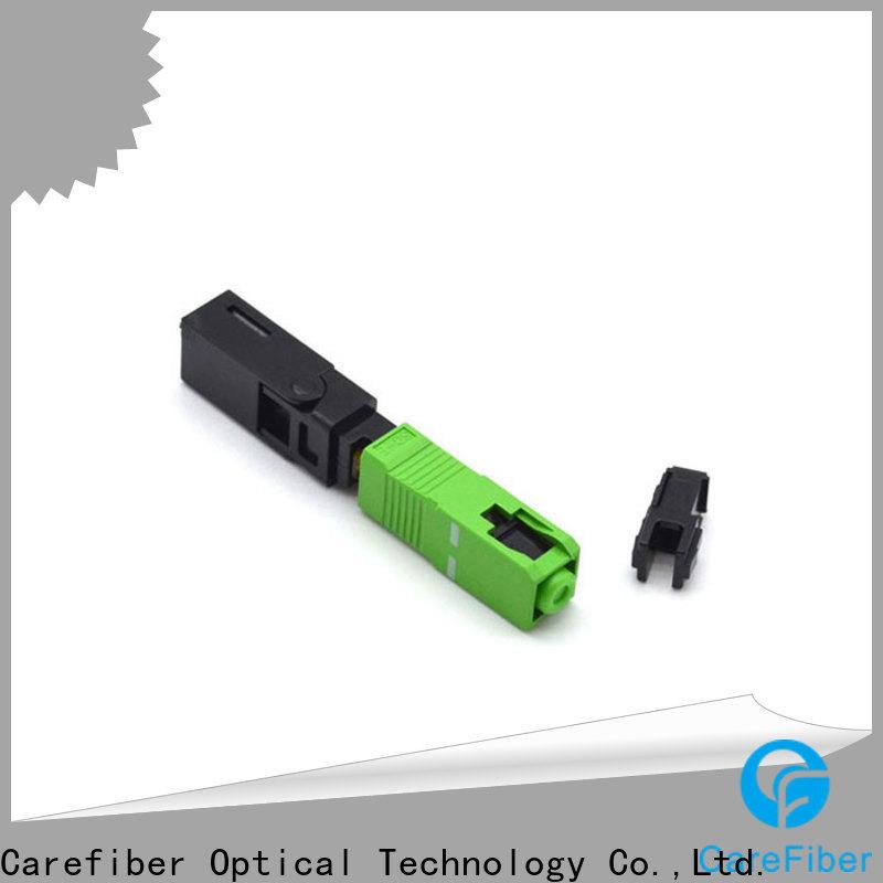 Carefiber fiberfast optical connector types trader for communication