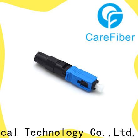 Carefiber dependable fiber optic lc connector factory for consumer elctronics