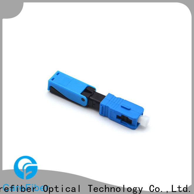 Carefiber best lc fast connector trader for consumer elctronics