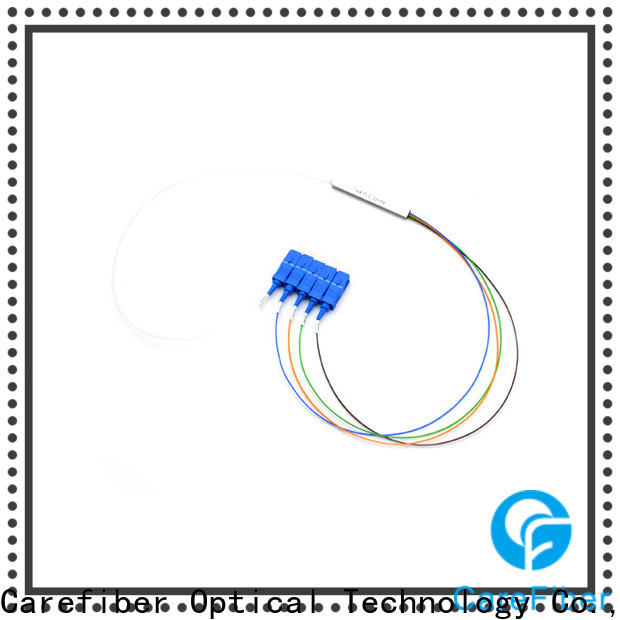 Carefiber bare optical cable splitter best buy cooperation for industry