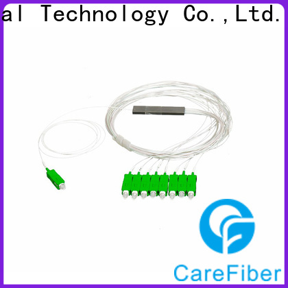 Carefiber quality assurance optical splitter best buy cooperation for global market