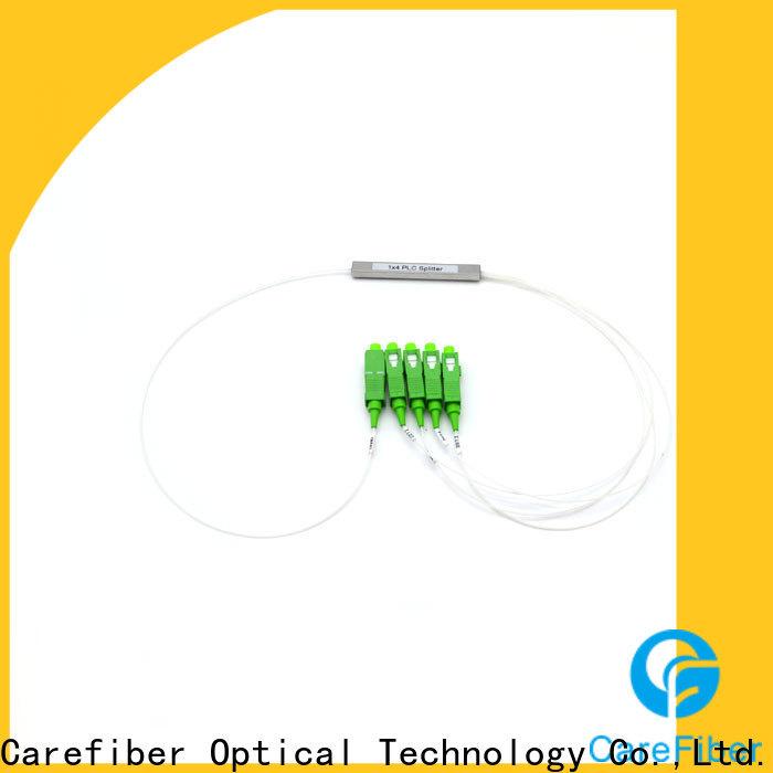 Carefiber quality assurance fiber splitter cooperation for global market