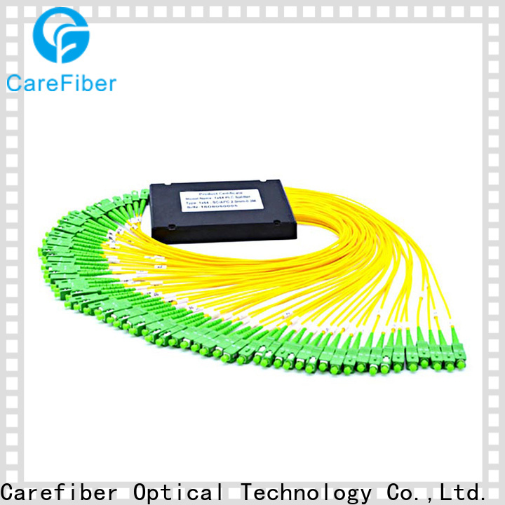 Carefiber most popular best optical splitter cooperation for communication