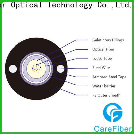 Carefiber tremendous demand outdoor fiber optic cable source now for merchant