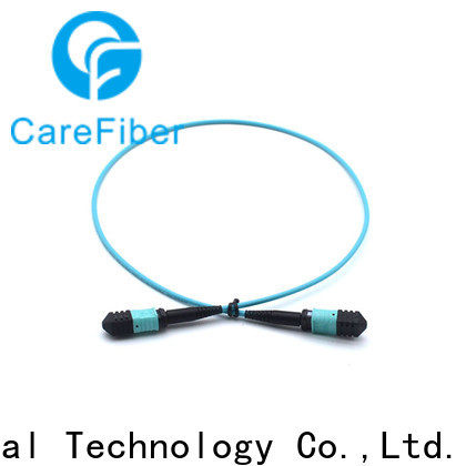Carefiber most popular fiber patch cord types foreign trade for sale