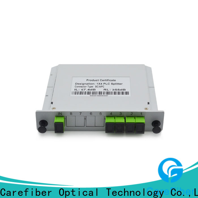 Carefiber quality assurance plc fiber splitter trader for communication