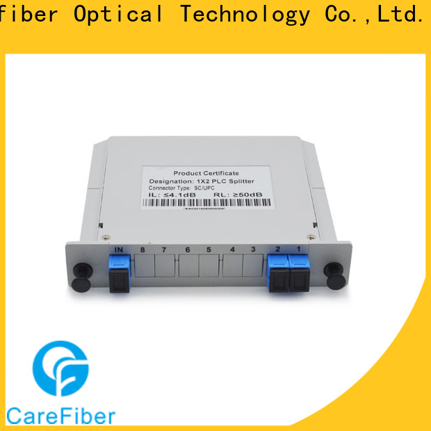 quality assurance fiber splitter cable foreign trade for industry