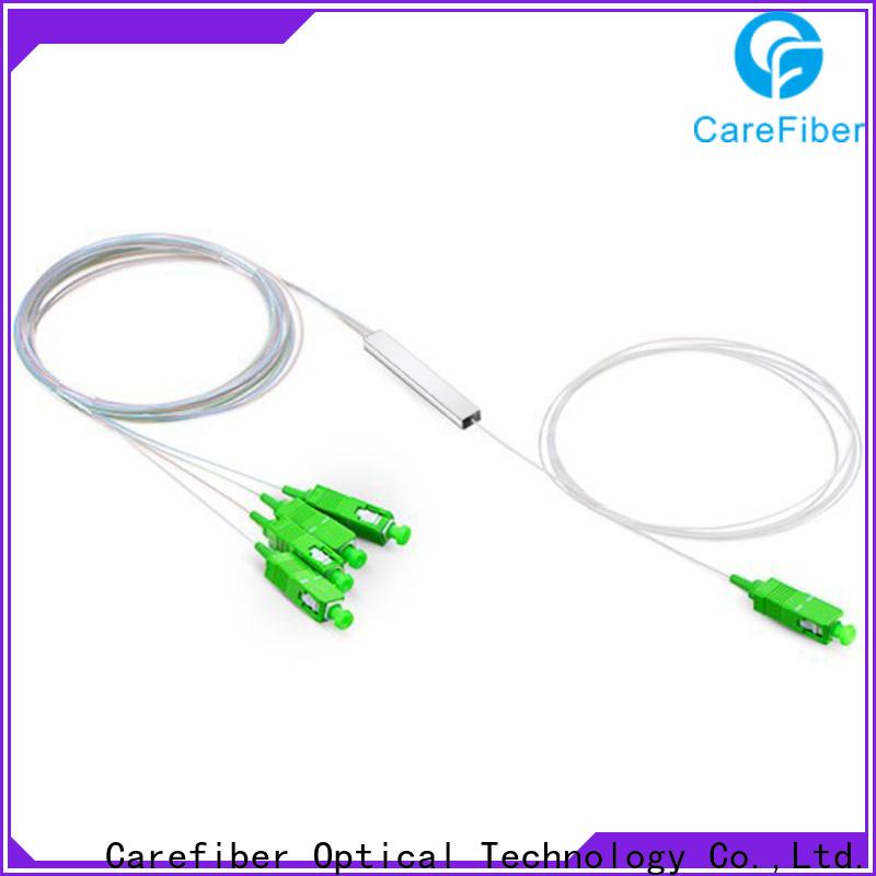 Carefiber quality assurance fiber optic splitter types foreign trade for global market
