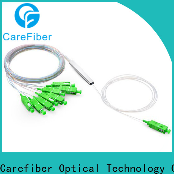 Carefiber mini plc fiber splitter foreign trade for industry