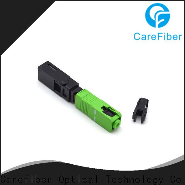 Carefiber connectorfiber optical connector types provider for communication