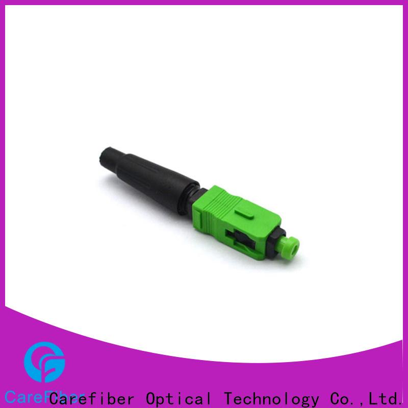 dependable fiber optic fast connector cfoscapcl5401 provider for consumer elctronics