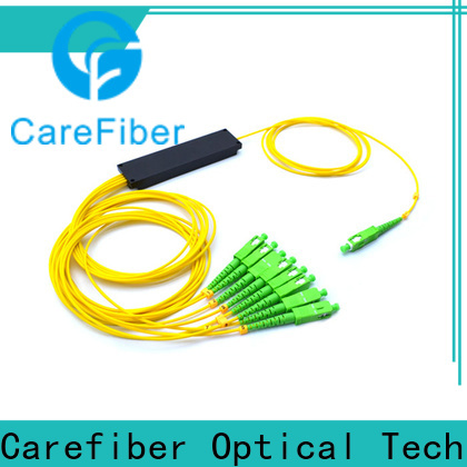 Carefiber steel optical cord splitter trader for global market
