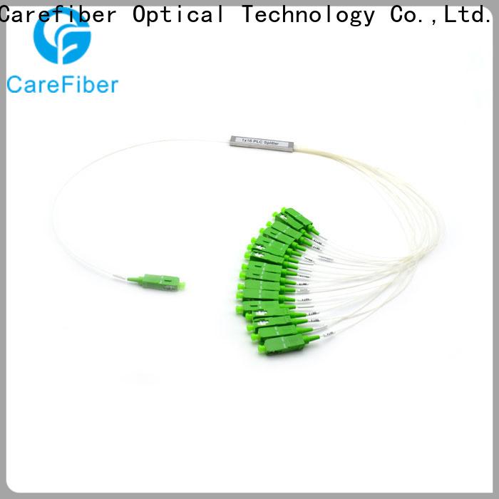 Carefiber 1x2 optical splitter trader for industry