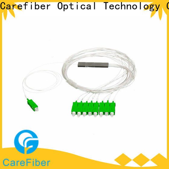 Carefiber best plc splitter cooperation for industry
