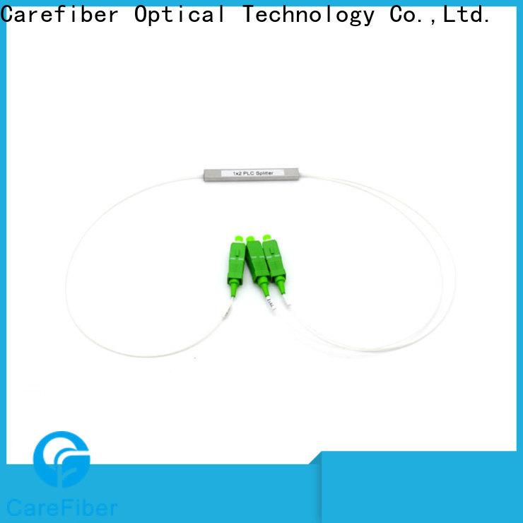 Carefiber quality assurance fiber optic splitter types cooperation for industry