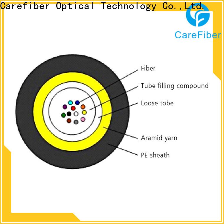 Carefiber credible single mode fiber cable manufacturer for overseas market
