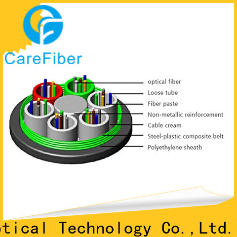 outside plant fiber optic cable gytc8s wholesale for trader