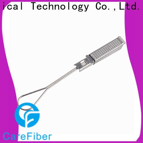 Carefiber tension fiber optic accessories program consultation for businessman