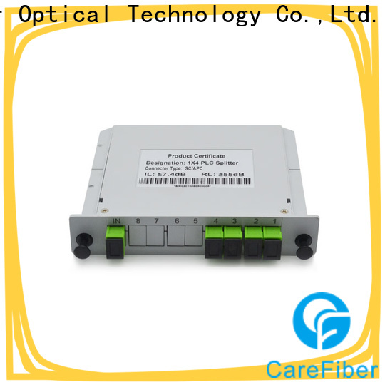 Carefiber best plc optical splitter trader for industry