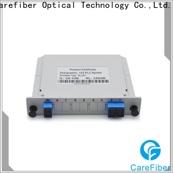 Carefiber 1x64 plc fiber splitter cooperation for communication