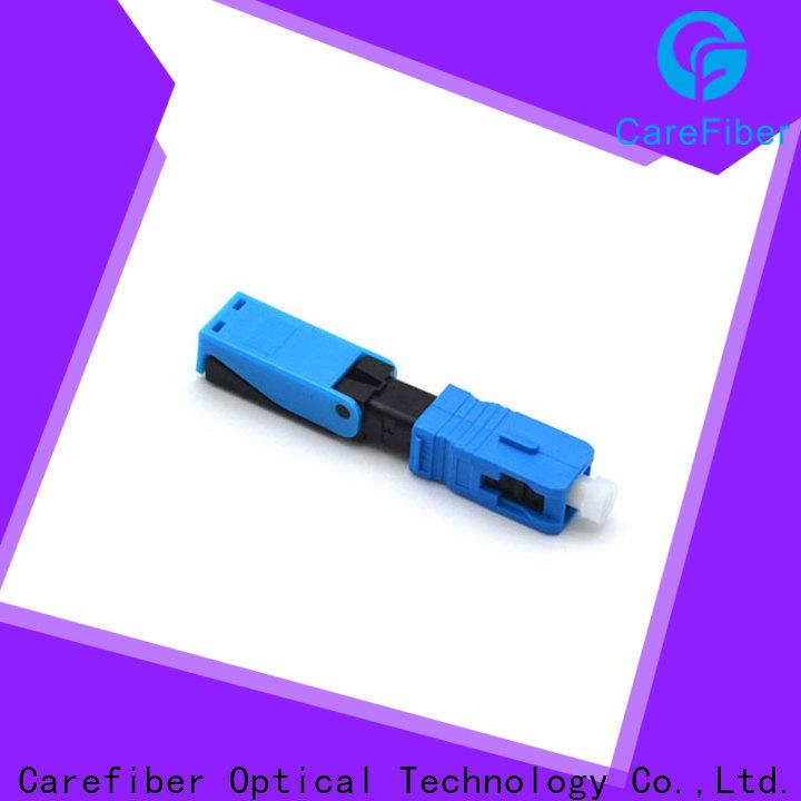 Carefiber cfoscapcl5401 fiber optic lc connector provider for distribution
